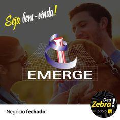 Obrigado pelo carinho e confiança. Emerge, Diagnóstico Veterinário. #DeuZebra #Zebra #parceria #cliente #MídiaSocial #facebook #instagram #consultoria