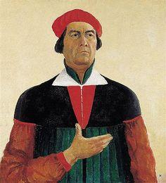 Self-Portrait+-+Kazimir+Malevich