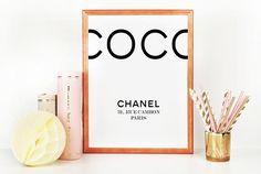 COCO CHANEL DECOR Chanel BabyChanel InspiredCoco Chanel