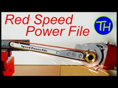 Red Speed |  Power File | Angle Grinder Hack | Grinder Attachment - YouTube