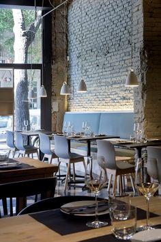 """""""Marzua: Saboc: entorno nórdico y cocina minimalista en el nuevo epicentro del barrio del Born."""""""