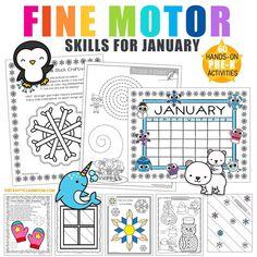 Preschool Themes By Month, Preschool Printables, Preschool Lessons, Preschool Activities, Color Activities, Hands On Activities, Penguins And Polar Bears, Polar Animals, Preschool Winter