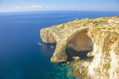 Blue Grotto Malta The 50 Most Beautiful Places in Europe - Condé Nast Traveler Places In Europe, Places Around The World, Around The Worlds, Greek Island Holidays, Greece Holidays, Cool Places To Visit, Places To Go, Beautiful World, Beautiful Places