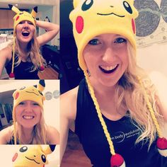 Oh. My. Gosh. I was gifted a Pikachu hat - complete with hanging pokéballs. My boyfriend really knows how to win my  hehehe thank you @pierre631 you're the best!!!  #pikalove #pikaobsessed #pikachu #pikapi #pikahat #pikachuhat #pikagirl #pikachulove #happy #cutegifts #bestboyfriendever #pokemon