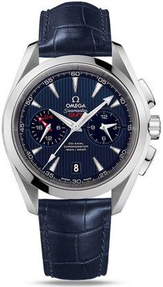 Omega Seamaster Aqua Terra 150M GMT Chronograph - 231.13.43.52.03.001
