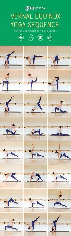 Vernal Equinox: Rhythm and Ritual Through Yoga. Full written yoga sequence + accompanying video