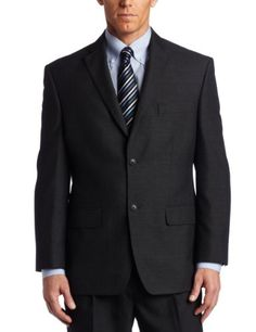 Haggar Men's Big & Tall Tonal Windowpane 2 Button Suit Separate Coat, Charcoal Heather, 56 R Haggar,http://www.amazon.com/dp/B00CN7V214/ref=cm_sw_r_pi_dp_DVE3sb0VMMDJAHC0