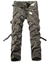 AKARMY Men's Cotton Casual Military Army Camo Combat Work Cargo Pants with 8 Pockets at Amazon Men's Clothing store Army Cargo Pants, Tactical Cargo Pants, Camouflage Cargo Pants, Mens Trousers Casual, Casual Pants, Men Casual, Men Pants, Workwear Trousers, Sans Serif