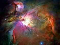 Orion Nebula--All the Glory to God!