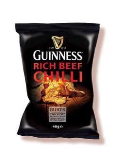 Guinness Rich Beef Chilli crisps
