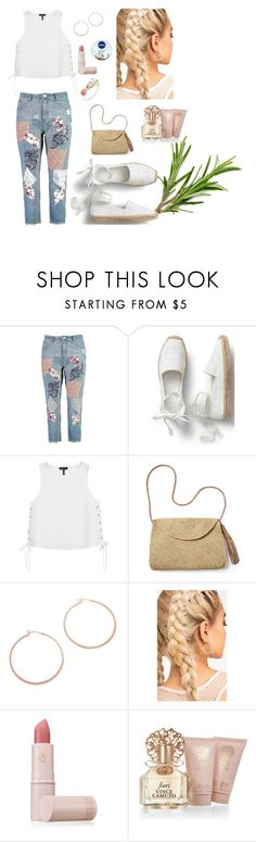 """""""Untitled #149"""" by natashaftr on Polyvore featuring Boohoo, rag & bone, Mar y Sol, Jennifer Zeuner, Lipstick Queen, Vince Camuto, Jacquie Aiche and Nivea"""