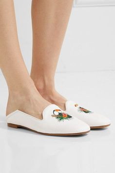 8793b68c3ecf2d Slight heel White raffia and leather Slip on Made in ItalySmall to size.  See Size