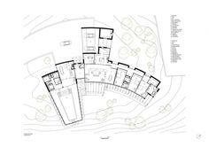 Gallery of Casa Avenal / Carlos Castanheira - 34 Open Architecture, Architecture Presentation Board, Architecture Concept Drawings, School Architecture, The Plan, How To Plan, Plano Hotel, Hotel Floor Plan, Kindergarten Design