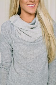 Campfire Cowl Neck Sweater