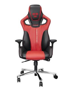 E-Blue Cobra Gaming Chair PU Leather Office Ergonomic Computer eSports Desk Executive Red - Rattan Furniture SHOP UK Interior Furniture Pc Gaming Chair, Gamer Chair, Red Office Chair, Home Office Chairs, Game Room Chairs, Best Pc, Home Renovation, Game Design, Chair Design