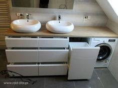 Fantastic Cost-Free Bathroom Furniture wooden Ideas Excessive stuff plus insufficient locations to store them restricting the design of your bathroom? Bathroom Design Luxury, Bathroom Design Small, Bathroom Layout, Bathroom Design Inspiration, Bad Inspiration, Laundry Room Design, Home Room Design, Bathroom Toilets, Laundry In Bathroom