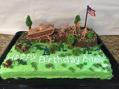 Camo Birthday Cakes, Army Birthday Parties, Army's Birthday, Unique Birthday Cakes, Homemade Birthday Cakes, Birthday Cookies, Birthday Ideas, Army Cake, Birthday Cake For Husband