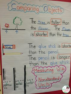 Measurement activities are a lot of fun to do! Here are some ideas and some lessons I learned along the way!
