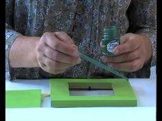 Pébéo - Fantasy Prisme: peindre un cadre en bois