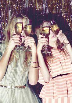 champagne goggles