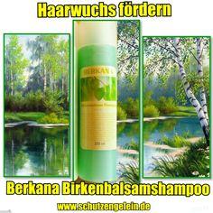 Berkana Birkenbalsamshampoo, Kopfhaut neutral, fettige Haare, gegen Schuppen, für schnelleren Haarwuchs