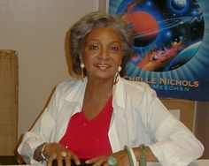 """Nichelle Nichols -- Television and Film Actress/Singer/Voice Artist/Author. She played Lieutenant Uhura on """"Star Trek"""". Movies -- """"Snow Dogs"""" as Amelia, """"The Supernaturals"""" as Sgt. Various """"Star Trek"""" Movies. Nichelle Nichols, Star Trek Series, Equal Rights, Famous Women, Hottest Models, Black History, Movie Stars, Handsome, Hollywood"""