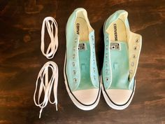 3e830405a7a Turqouise   Teal Converse All Star Shoes Size 10 Womens  8 Mens  fashion