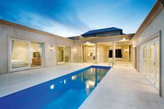 www.integratedpools.com.au  ph: (03) 8532 4400  Contemporary Pool- Integrated pools by Canny   #pool #luxurypool #contemporary pool #integratedpools #canny