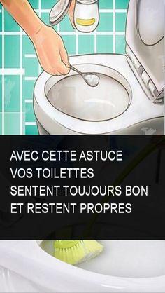 Avec cette astuce Vos toilettes sentent toujours bon et restent propres
