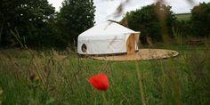 Luxury Yurt Glamping Fowey River Cornwall Sleeps 5