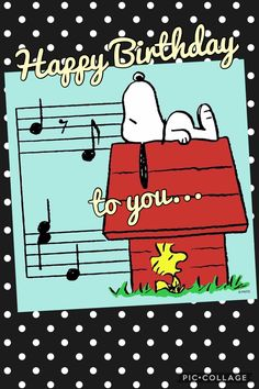 Happy Birthday Snoopy Images, Peanuts Happy Birthday, Snoopy Birthday, Happy Birthday Wishes Quotes, Happy Birthday Video, Birthday Blessings, Happy Birthday Pictures, Happy Birthday Greetings, Birthday Messages