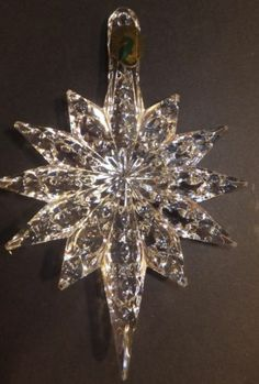 Waterford Crystal 2013 Annual Snowstar Ornament with Enhancer New in Box | eBay