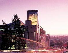 Meydenbauer Center, Bellevue — Meydenbauer Center at sunrise in Bellevue Washington.