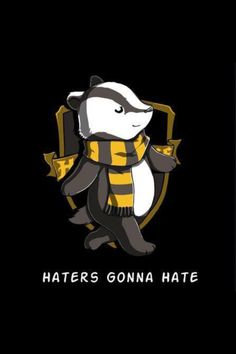 Cute Hufflepuff badger