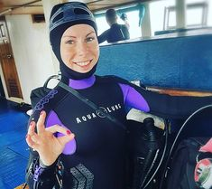 Women's Diving, Diving Suit, Scuba Girl, Wetsuit, Suits, Latex, Hoods, Swimwear, Outdoors