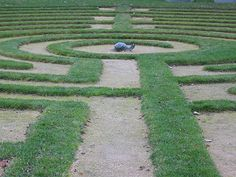 The labyrinth is a two-way path. The walk is interactive. Do what feel natural. Follow your own pace. If you lose your way, that's OK. Think of it as metaphor. It is OK to pass and to be passed. You may want to stop, especially at the switch-back turns. When on the labyrinth, it is important to be considerate. In the center you may want to visit each of the pedals, you may sit or lie down, and can stay for as long as you wish. There is no right or wrong way to walk the labyrinth.