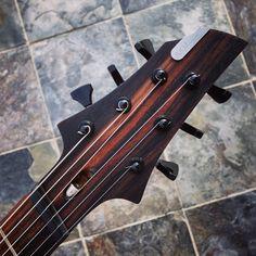 AKM Guitarworks Multiscale headstock