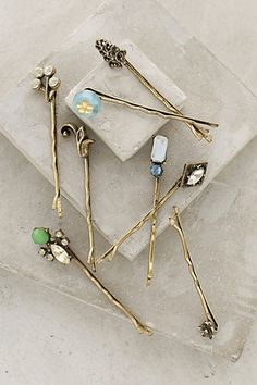 pretty bobby pins #anthroregistry