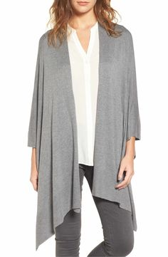 Main Image - Nordstrom Knit Poncho
