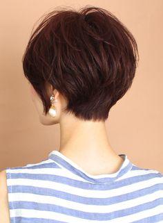 Japanese Short Hair, Short Hair Styles, Hair Cuts, Hair Color, Makeup, Beauty, Gorgeous Hairstyles, Fashion, Short Hair