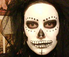 Pin for Later: 25 Awesome No-Prep Halloween Costume Ideas Scary Skull