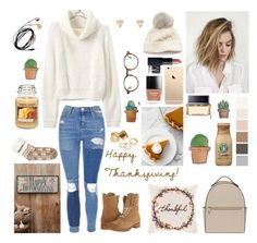 """""""Happy late thanksgiving!"""" by potato-swan77 ❤ liked on Polyvore featuring Frye, Topshop, New Directions, Givenchy, Henri Bendel, SIJJL, NARS Cosmetics, Forever 21, Pieces and Yankee Candle"""