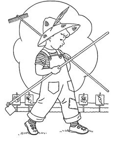 Little Kid Is Going To Garden Coloring Pages : Color Luna Garden Coloring Pages, Coloring Pages For Kids, Coloring Sheets, Online Coloring, Colorful Garden, Fun, Pictures, Crafts, Craft Ideas
