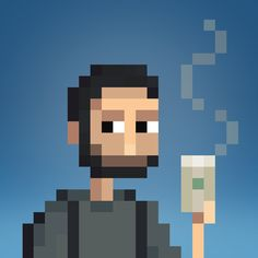 ➹ Custom Pixel Art Portraits by Lee Occleshaw / stonedragon.co.uk