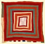 The Gee's Bend Quilters Collective sells the art of the internationally acclaimed artists from this Alabama community. Antique Quilts, Vintage Quilts, Gees Bend Quilts, African Quilts, Red And White Quilts, Medallion Quilt, Log Cabin Quilts, Quilting Projects, Quilting Ideas