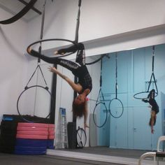 Combo I am playing with #lyracombo #lyra #skyhighstudios #monica #aerialistofinstagram #aerial #aerialhoop #aerialnation #beastlybuilt #monica #circusartistcirque #cirque #circus