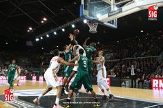 Strasbourg - Limoges - 3 novembre 2014 - Axel Toupane, Bangaly Fofana et Tadija Dragicevic