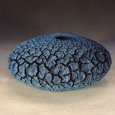 Small lichen bowl, by Randy O'Brien