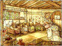 Nursery - by Jill Barklem (Brambly Hedge)