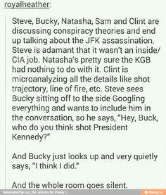 Bucky why? - Funny Superhero - Funny Superhero funny meme - - Bucky why? The post Bucky why? appeared first on Gag Dad. Marvel Funny, Marvel Memes, Marvel Dc Comics, Avengers Memes, Drarry, Fandoms, Tom Holland, Die Rächer, Bucky And Steve